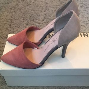 Chinese Laundry Women's D'orsay Tri-color Pumps